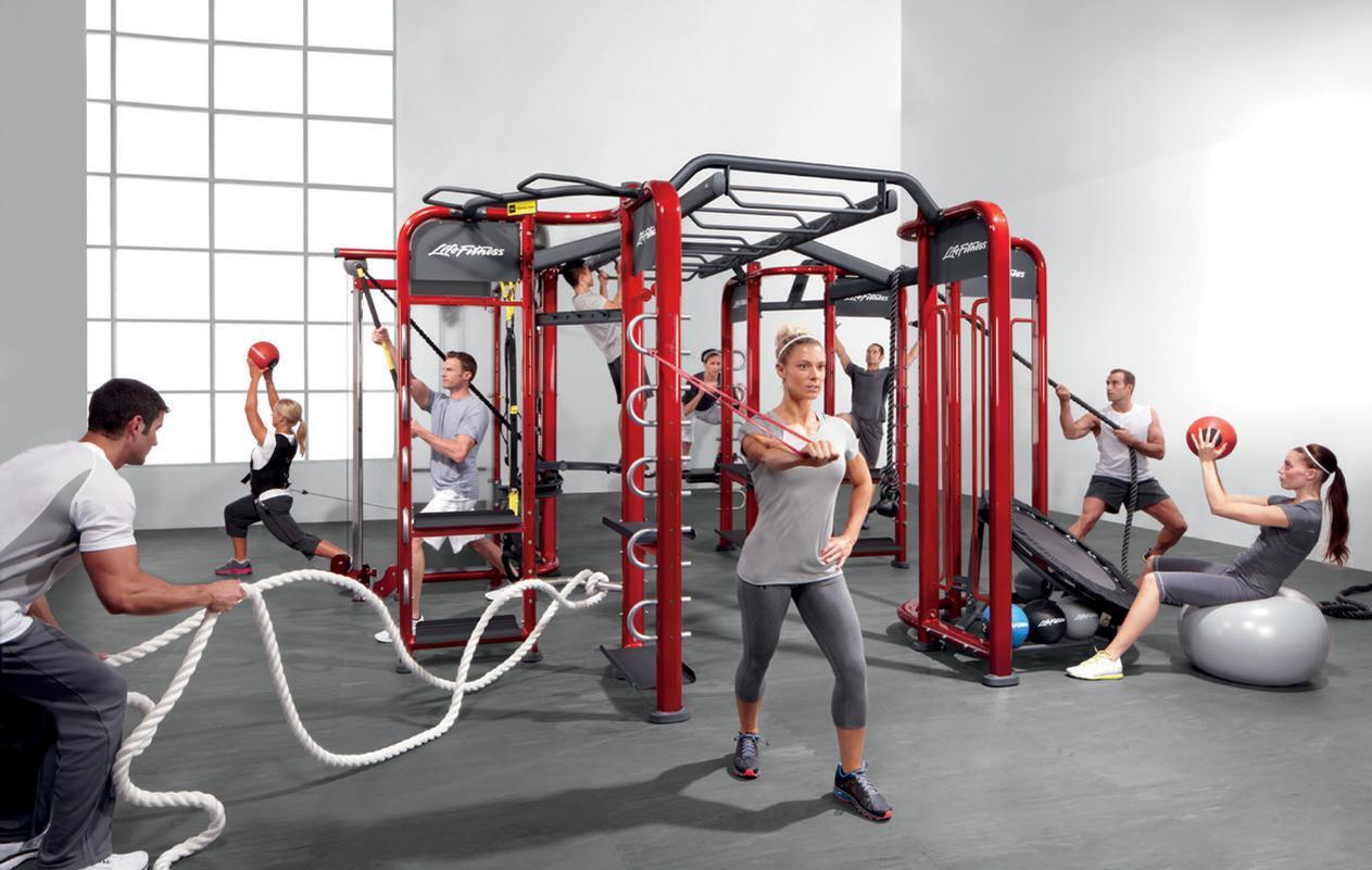 The Life Fitness portfolio includes five equipment brands