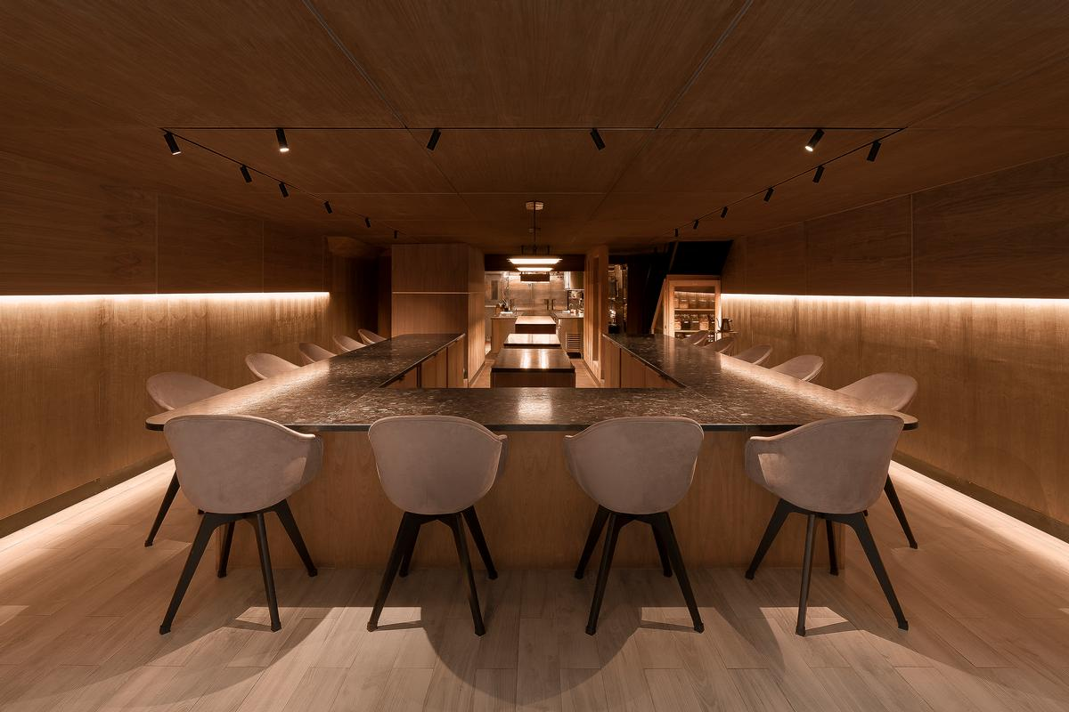 Atomix – a Korean restaurant located in New York City – won the category for '75 Seats and Under'. / Courtesy of Studio Writers