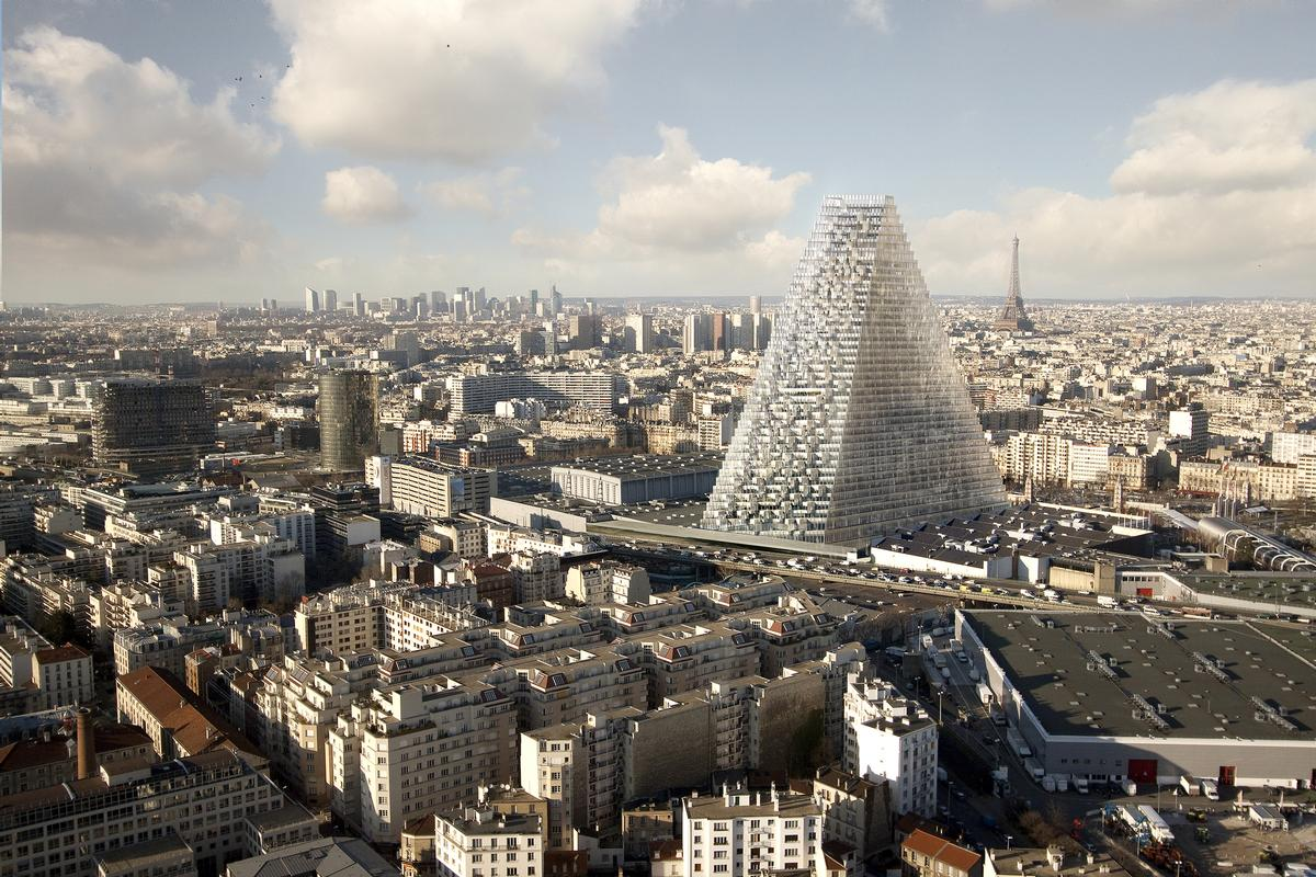 The Tower Triangle will be situated in the city's 15th arrondissement. / Courtesy of Herzog & de Meuron