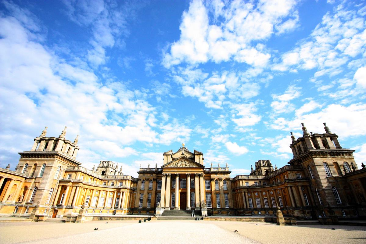 Blenheim Palace in Oxfordshire was the birthplace of Sir Winston Churchill / Shutterstock