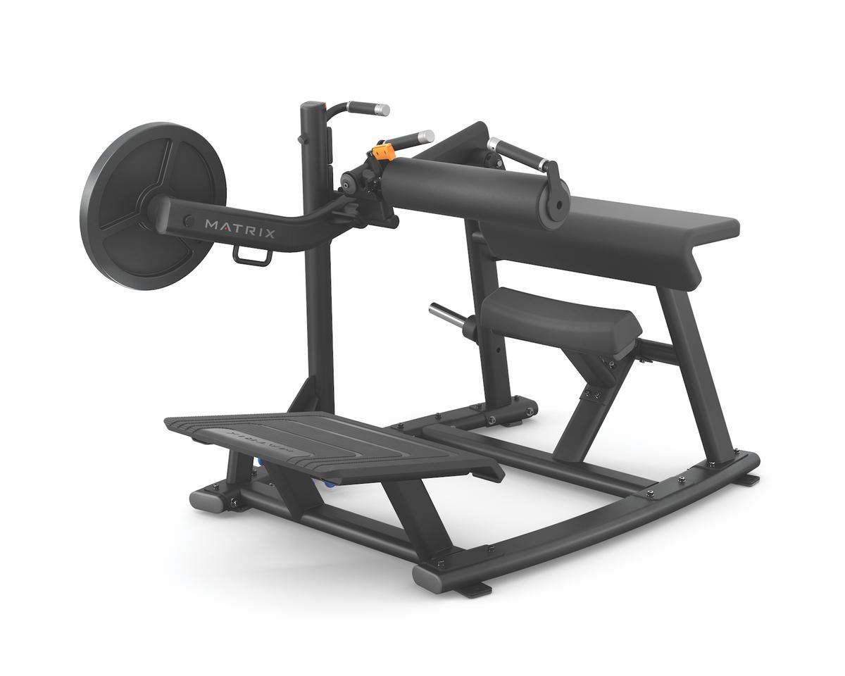 The Glute Trainer offers comfortable user positioning and an efficient machine layout
