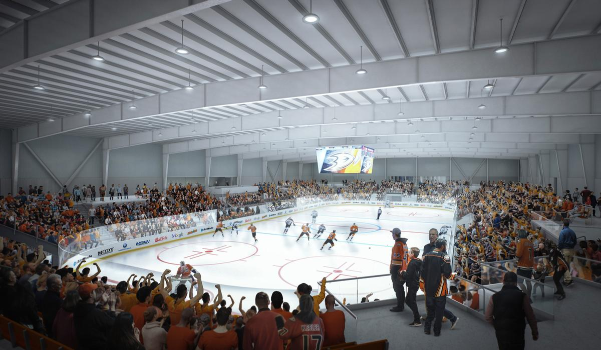 The project has been called the 'Taj Mahal' of skating facilities. / Courtesy of LPA Design