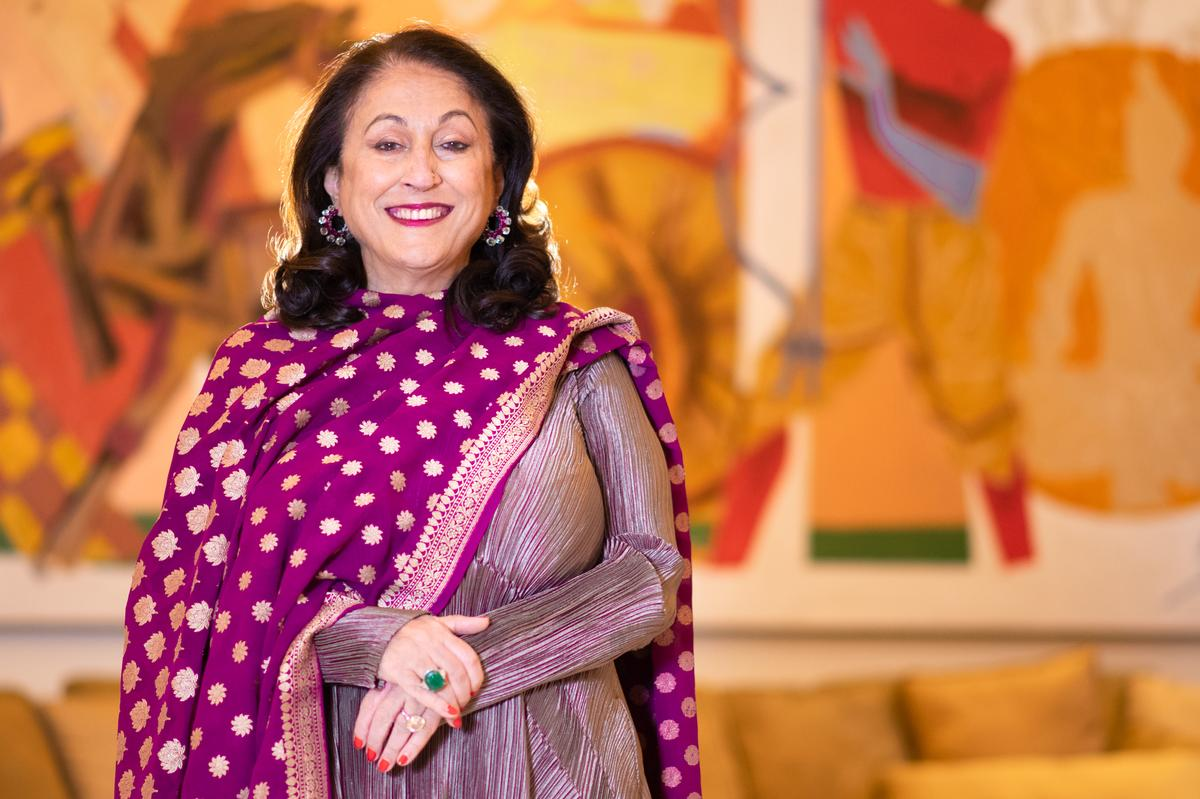 The museum's founder, Kiran Nadar, said the attraction will be a 'cultural powerhouse ', housing 6,000 works of art, as well as facilities for 'creative education'. / Courtesy of Kiran Nadar Museum of Art