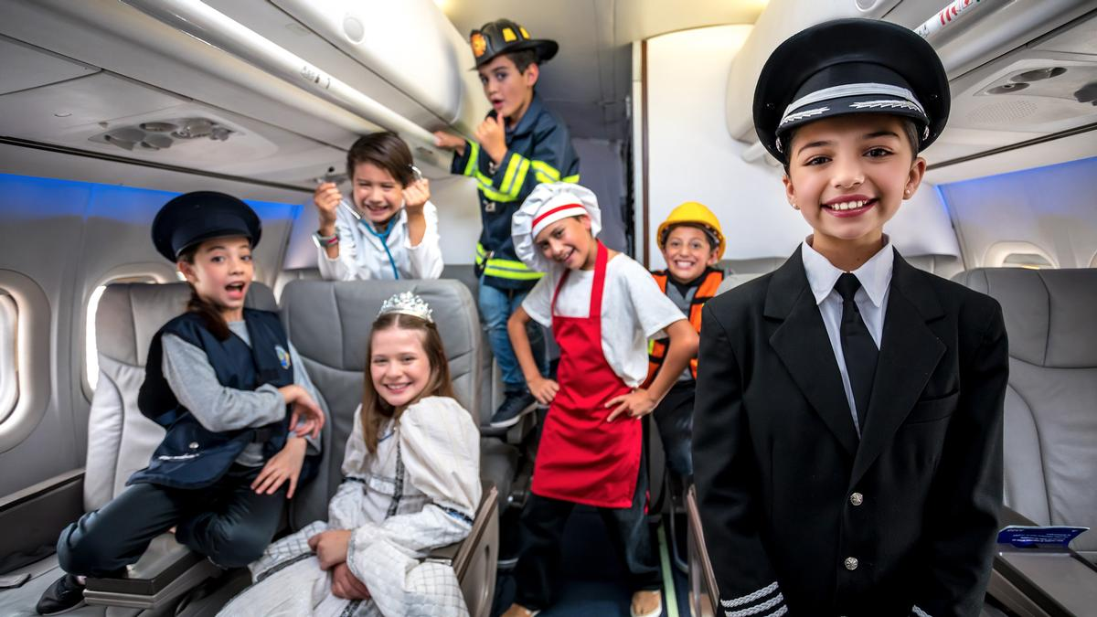 KidZania offers the chance for children to role play in dozens of real life professions