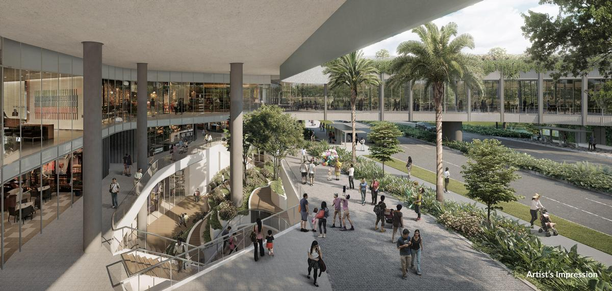 The property will also comprise retail shops, dining outlets, educational facilities, a community club, and a medical centre. / Courtesy of the Woodleigh Residences