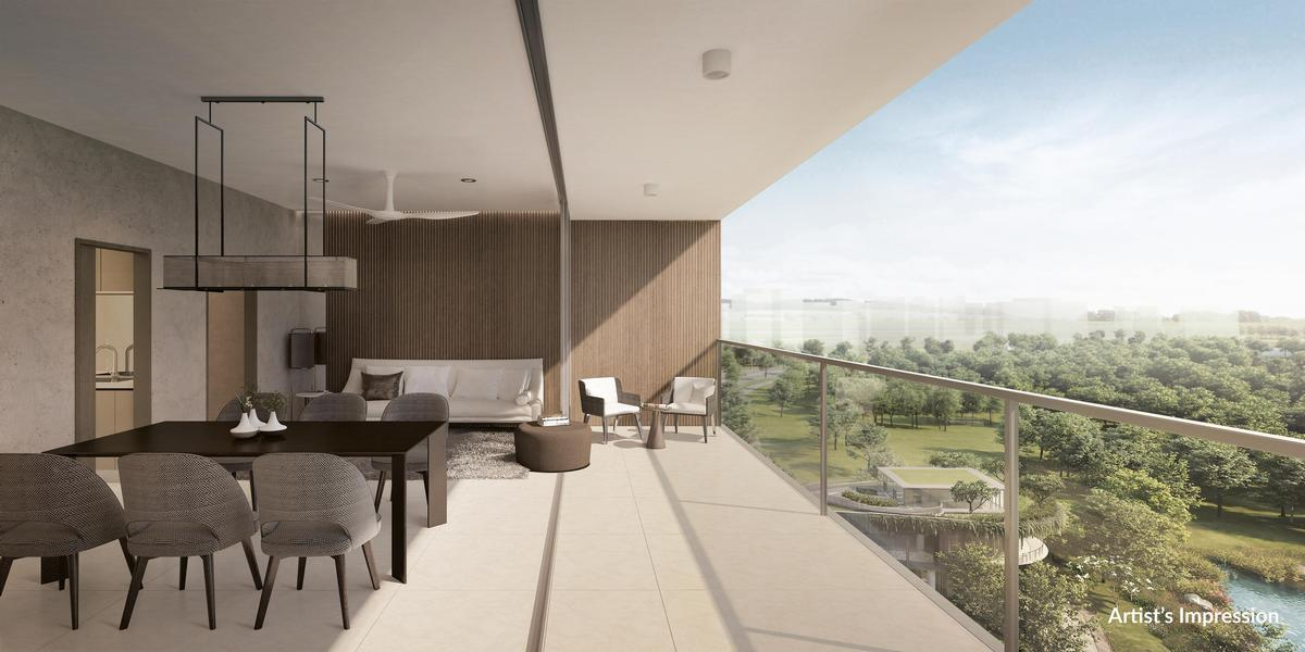 The complex will feature 667 two- to four-bedroom apartments. / Courtesy of the Woodleigh Residences