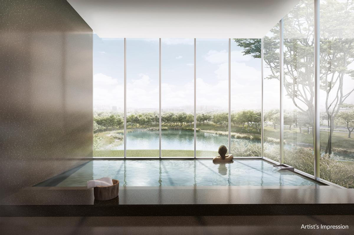 The sprawling development will incorporate the 'Japanese principles of intelligent space maximisation'. / Courtesy of the Woodleigh Residences