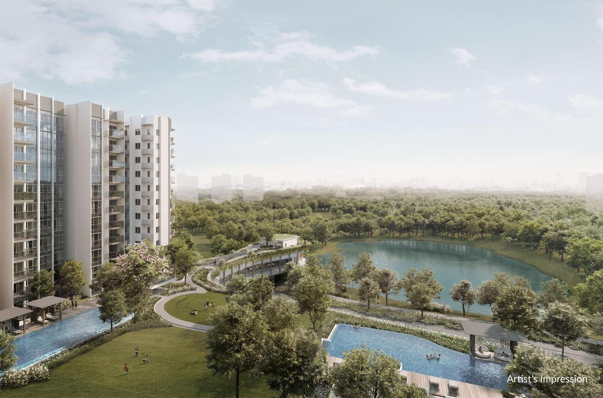 The project is expected to be completed in 2022. / Courtesy of the Woodleigh Residences