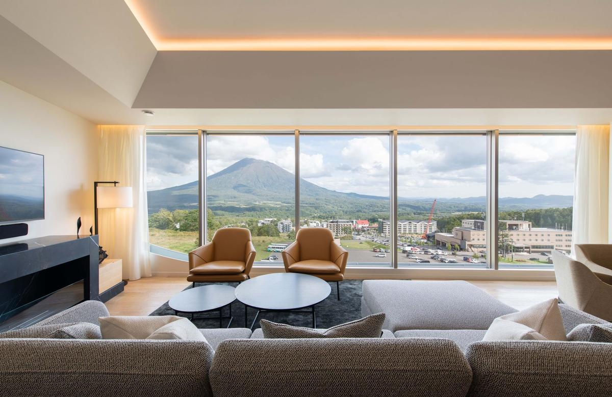 The project was designed to evoke an 'understated elegance'. / Courtesy of Skye Niseko