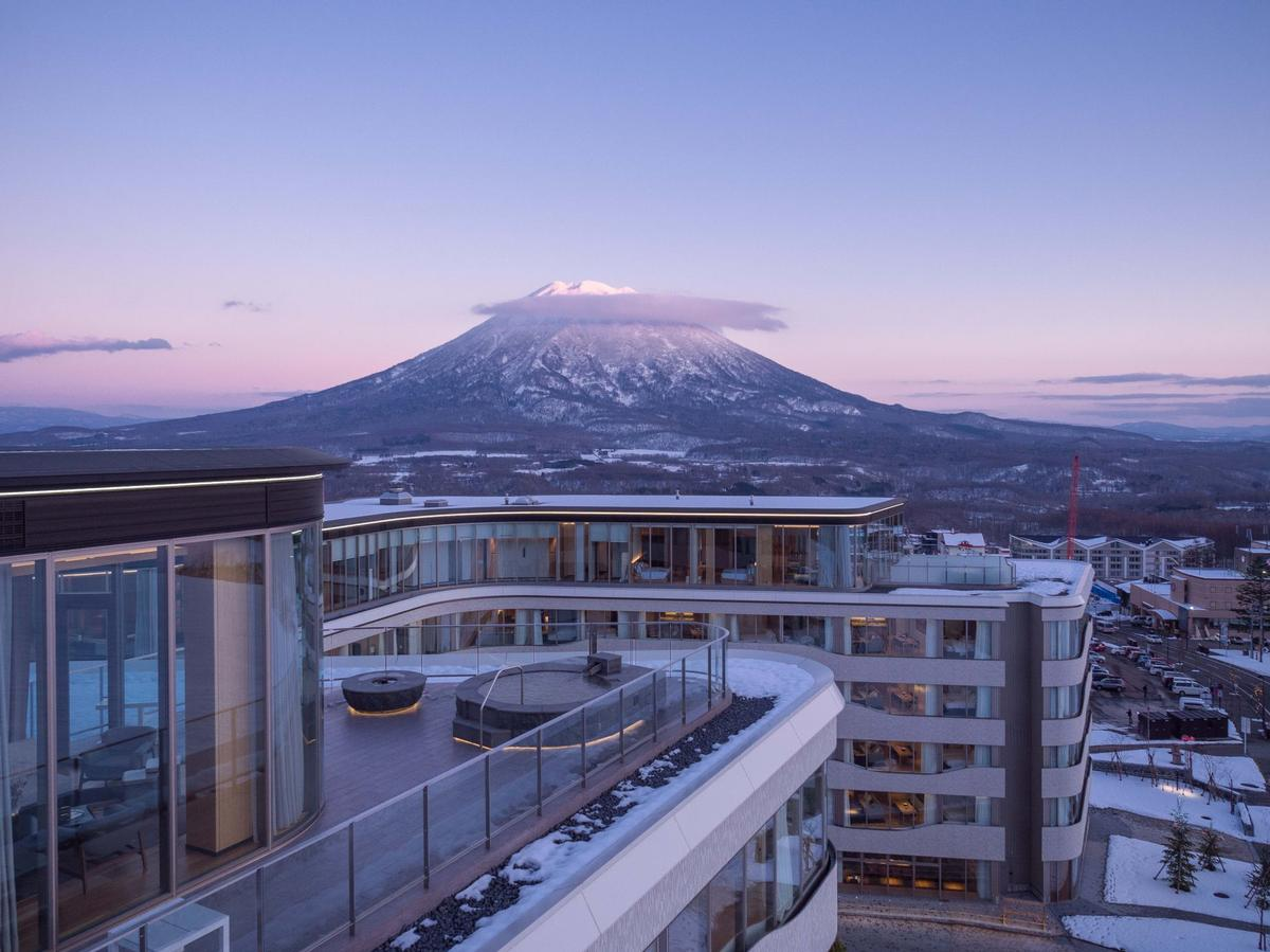Skye Niseko provides unobstructed views of Mount Yotei. / Courtesy of Skye Niseko