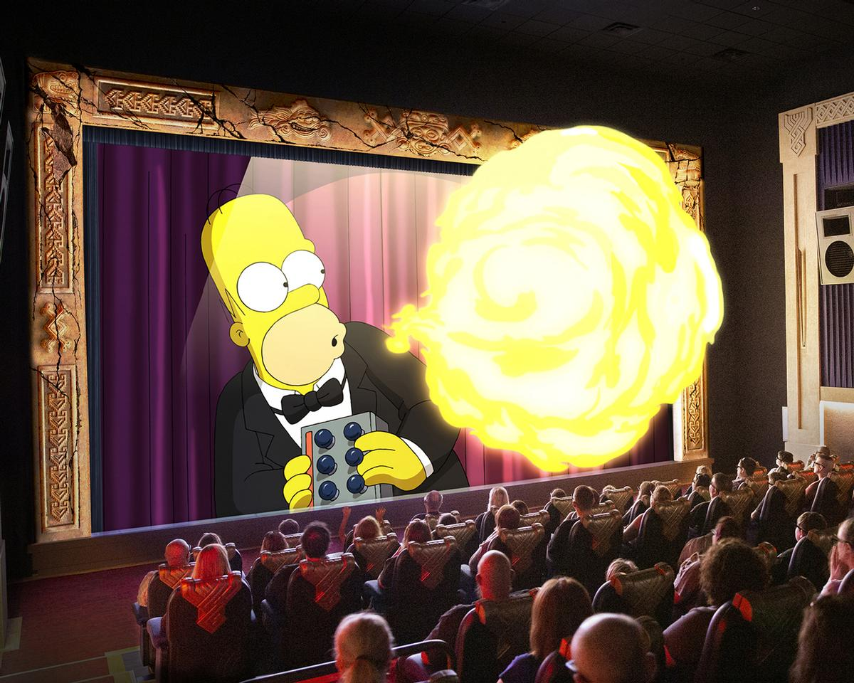 The Simpsons in 4D takes guests on a special-effects-filled adventure with the world's favourite animated family