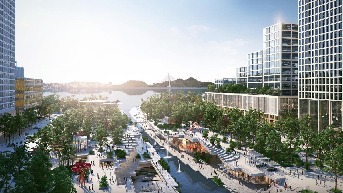 A bustling technology hub, Shenzhen has often been called