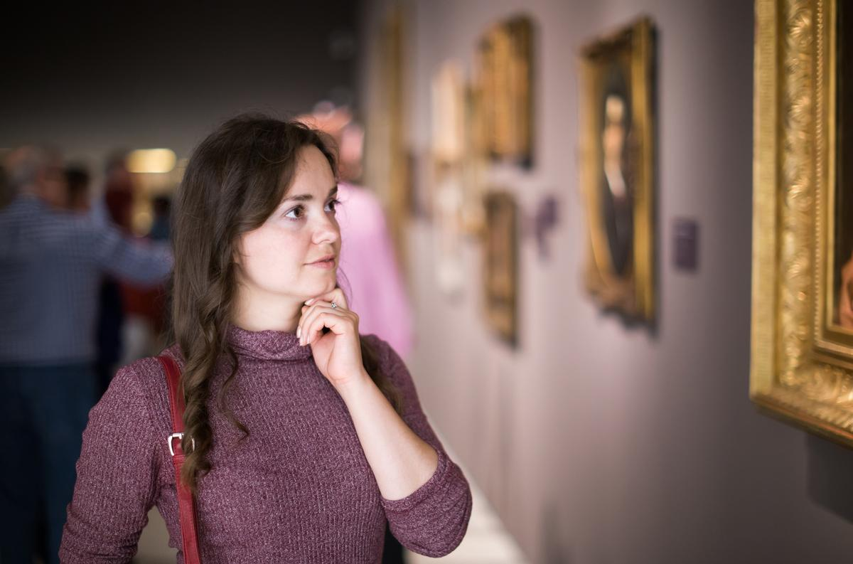 Art exhibitions have different commercial and academic drivers to scientific exhibitions / Shutterstock