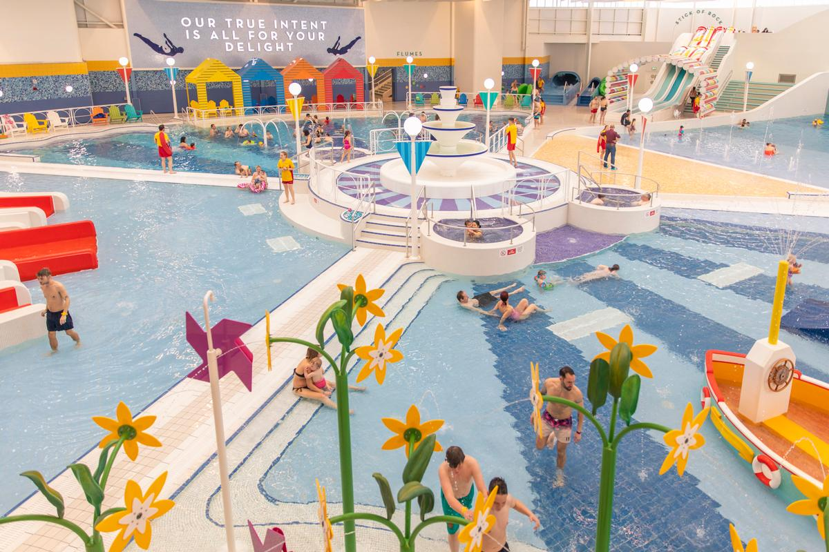FITCH was given the brief to create the most family-friendly pool in Britain