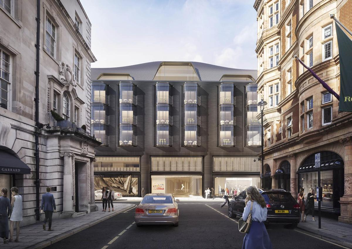 The estimated £500m project is being developed by O&H Properties / Foster + Partners
