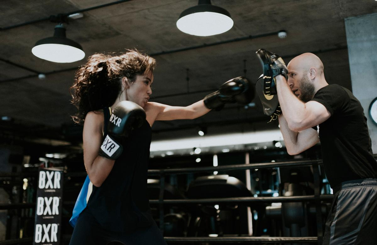 BXR combines high end boxing facilities with group exercise classes