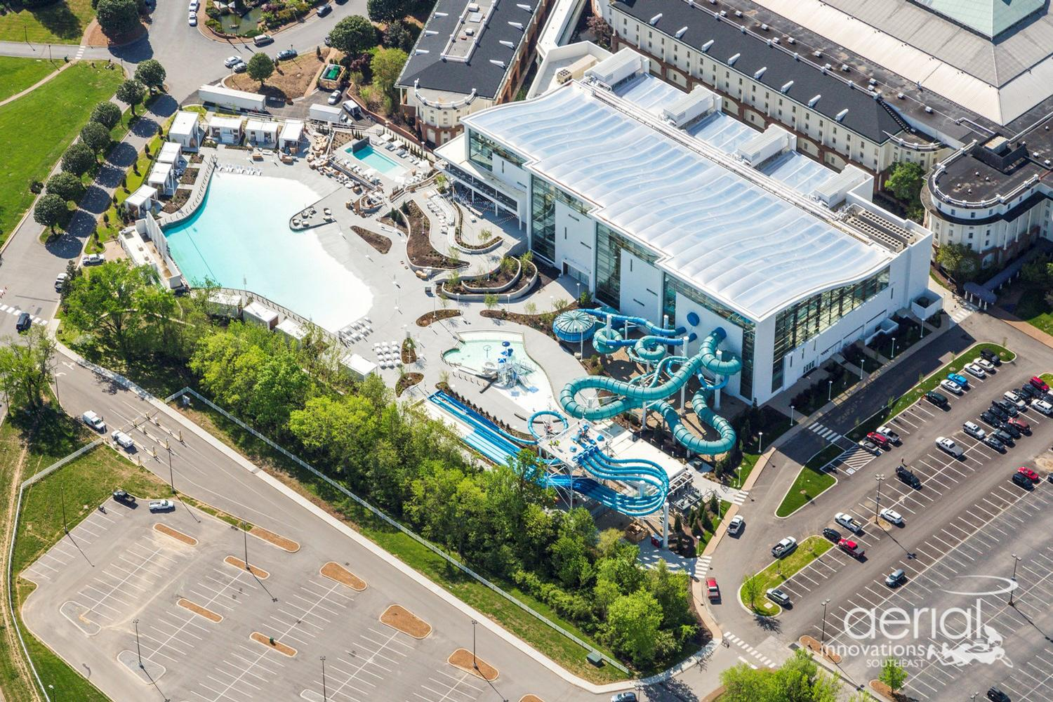 The Soundwaves indoor/outdoor water experience is a US$90m development