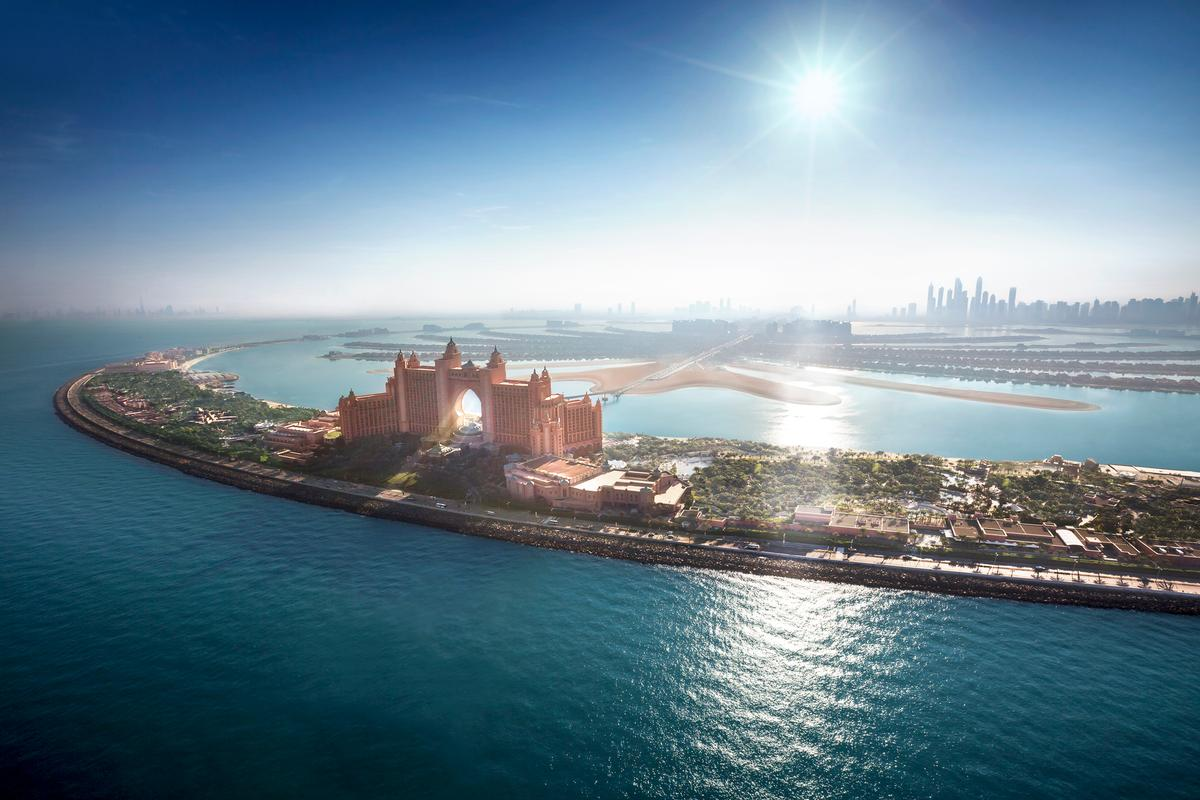 Atlantis also has a major new resort facility opening next to the waterpark on Dubai's Palm Island next year