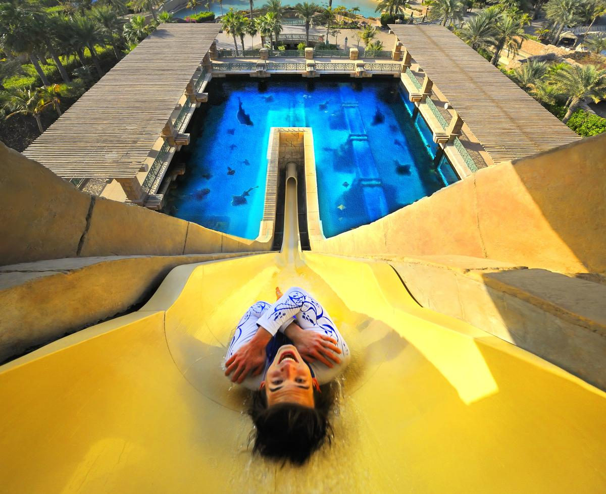The Leap of Faith at Atlantis Aquaventure will be expanded to two lanes