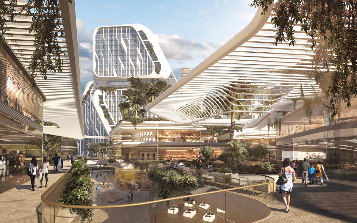 Ben van Berkel said UNStudio's master plan differs significantly from