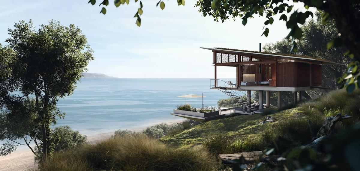 London-based architect John Heah, known for his sense of theatre and the ability to artfully harmonize design with nature, will design the resort