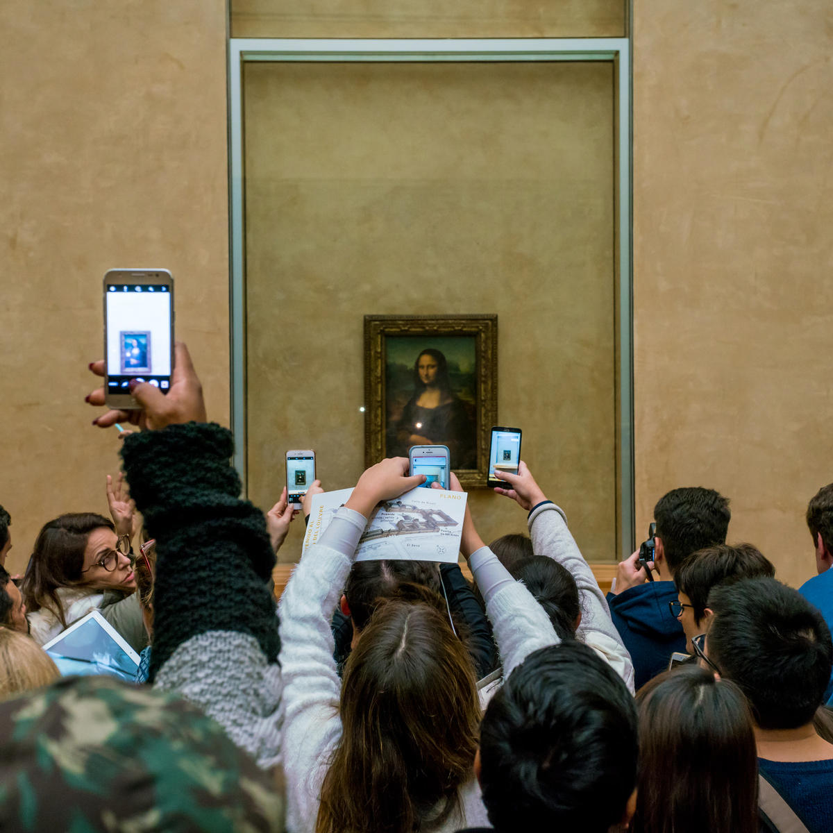 Long queues to see the Mona Lisa have led to frayed tempers / Shutterstock