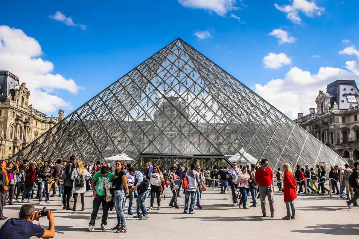 At 10.2 million people, The Louvre had easily the most visitors for any museum in the world last year / Shutterstock