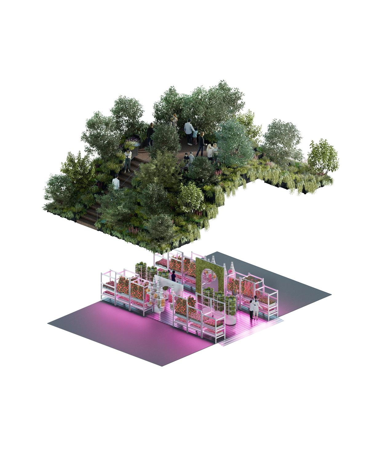 James Futcher, creative leader at IKEA Range and Supply, said the collaboration is 'about bringing attention to the future of the environment'. / IKEA