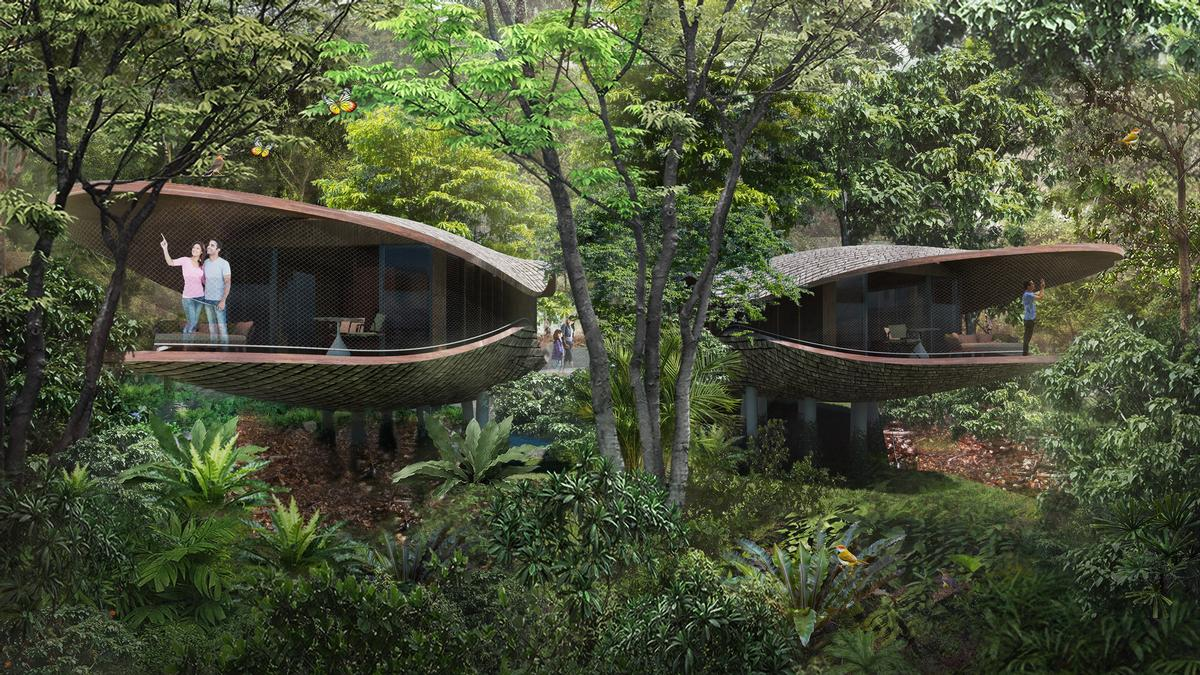 The future 4.6-hectare resort will be located a stone's throw from the Singapore Zoo. / Mandai Park Holdings