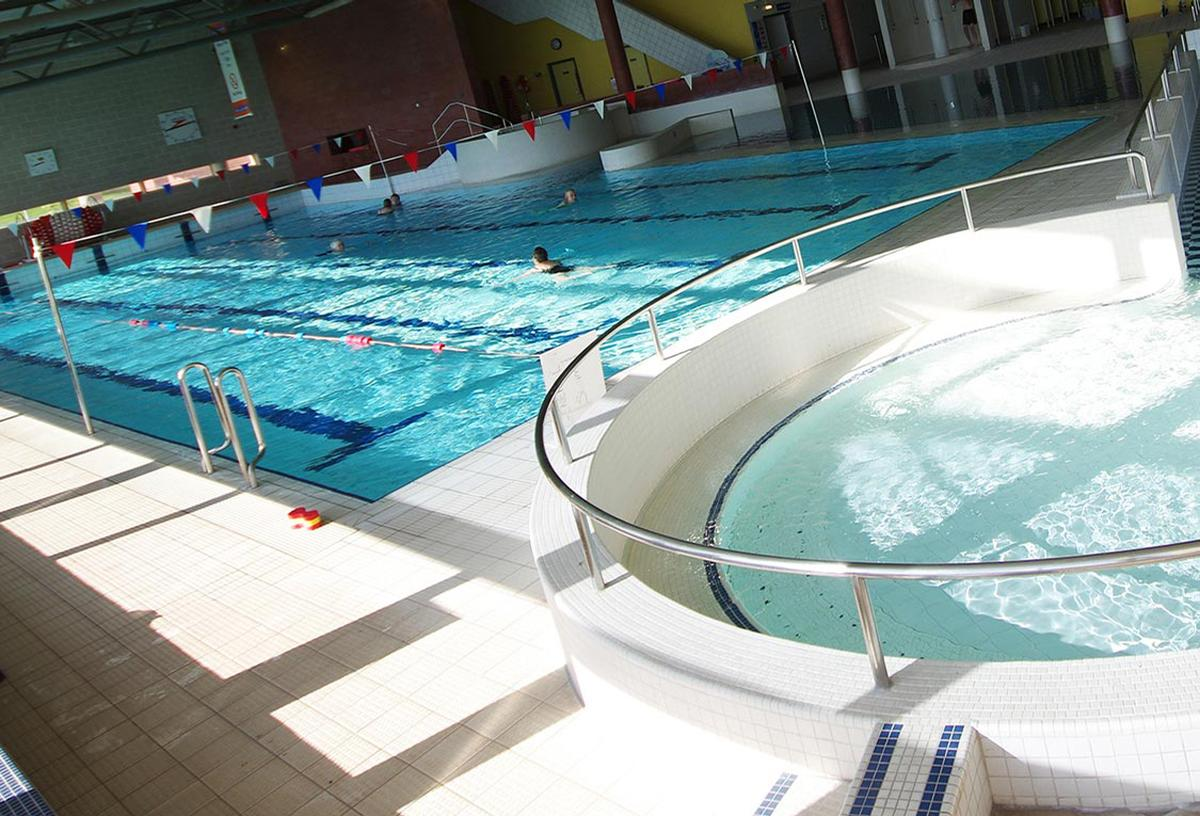 The development will replace the existing Swan leisure centre