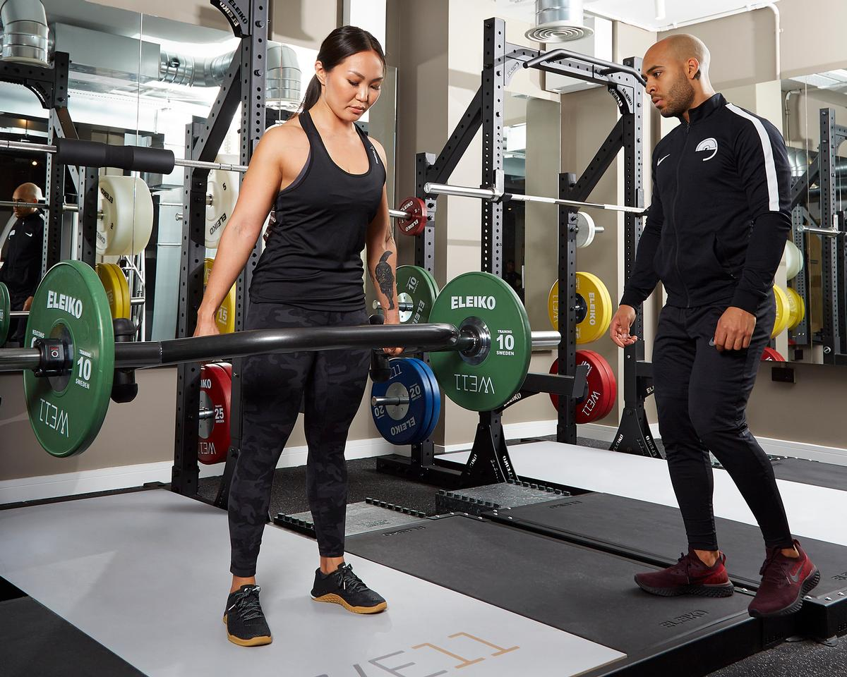 The WE11, a co-working studio for freelance wellness professionals, features a host of Eleiko equipment