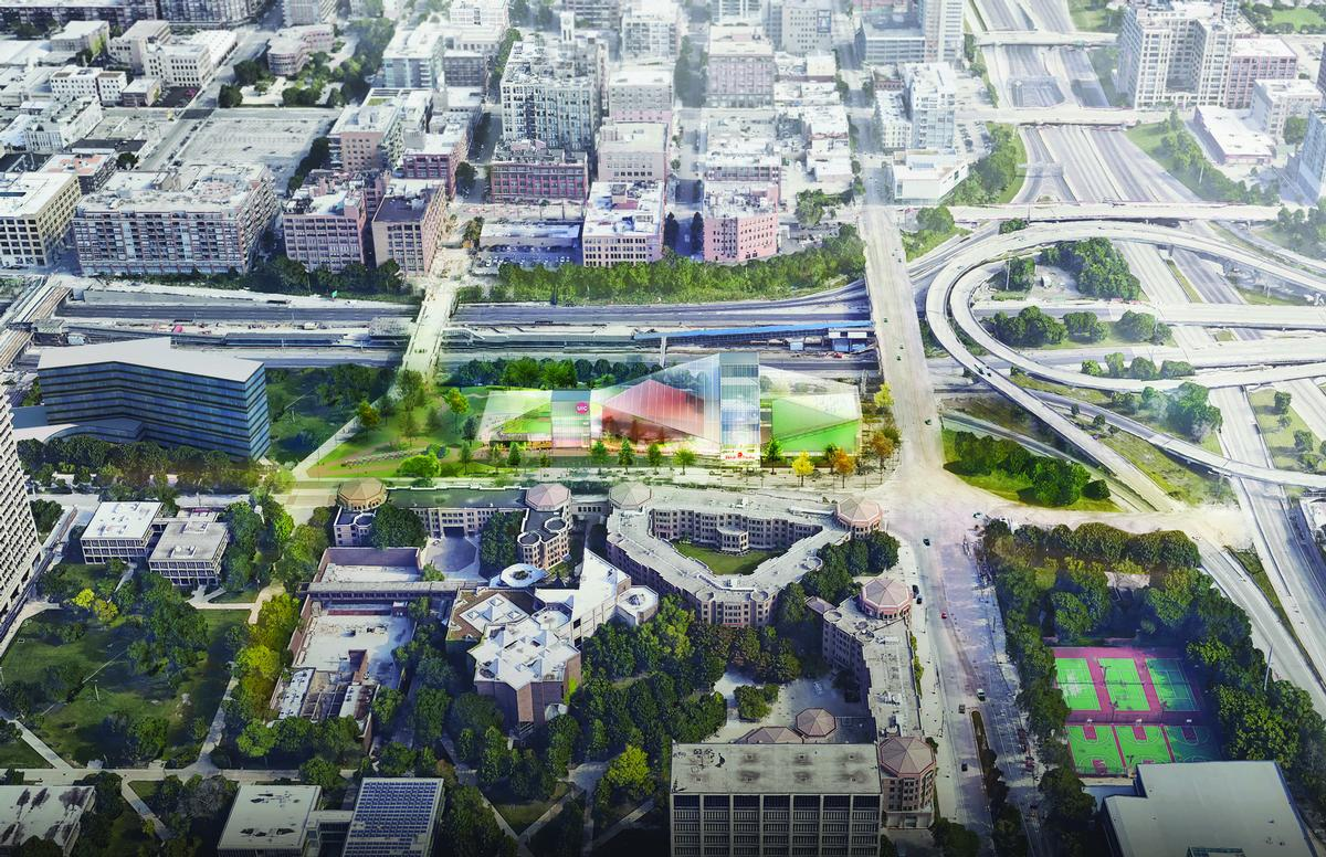 The Center for the Arts will reinforce 'UIC's mission to share knowledge with the broader world' / OMA/KOO