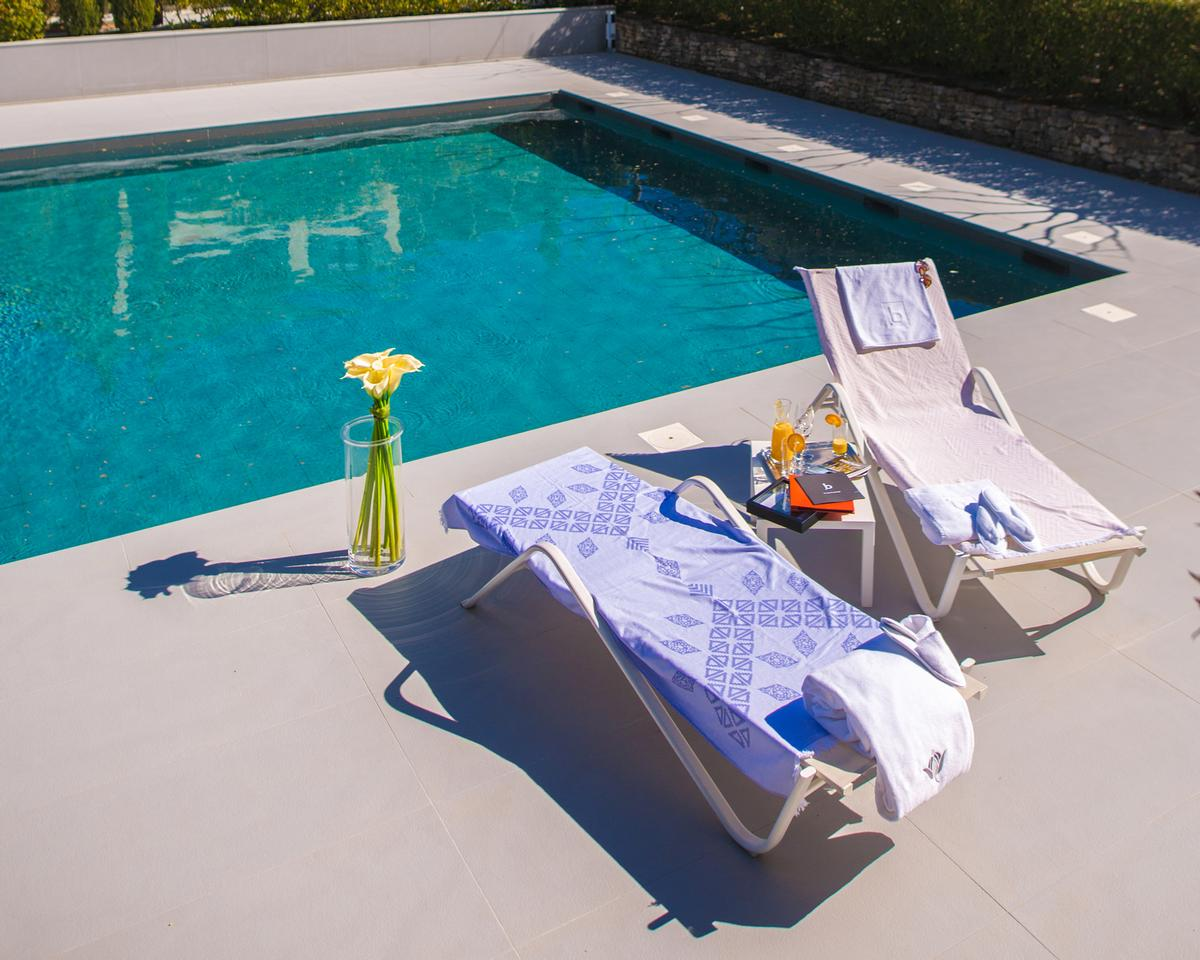 RKF's Fouta towels are created on a client-by-client basis