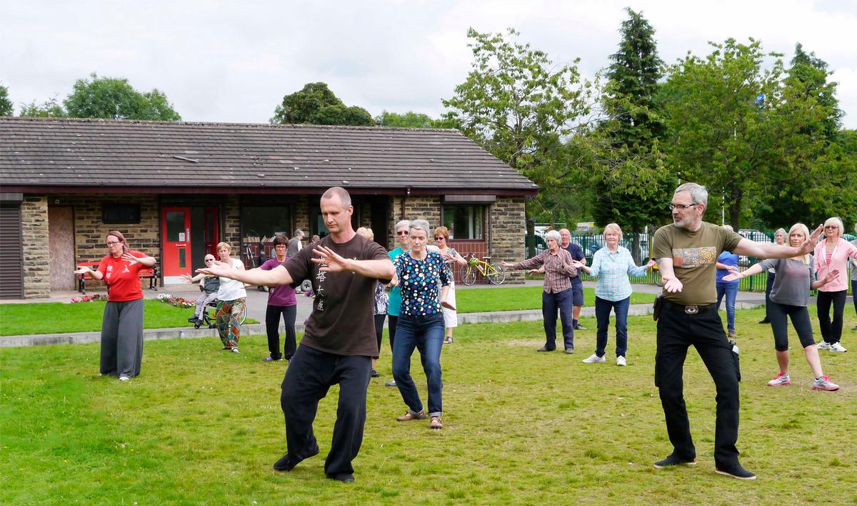 The Up and Active programme aims to offer physical activity sessions for all abilities