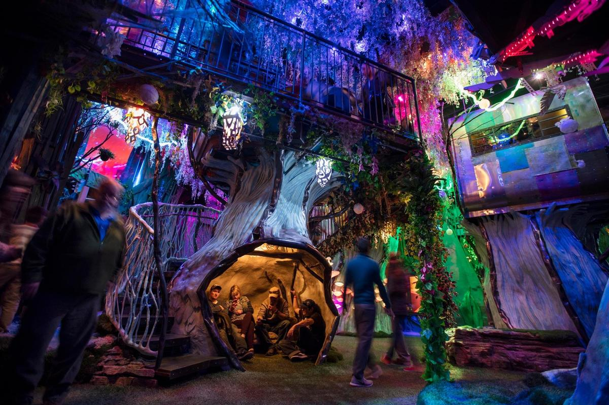 The <i>House of Eternal Return</i> delivers an immersive experience / Meow Wolf