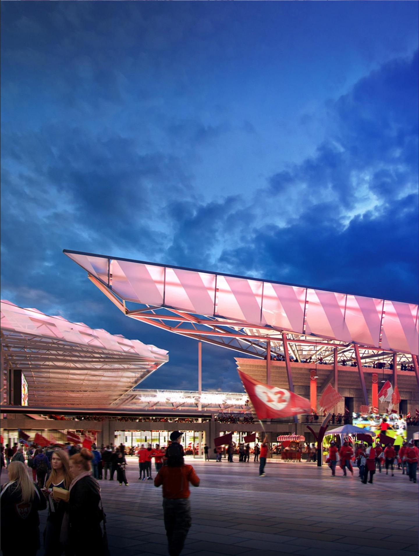 The project is scheduled to be completed in 2022 / HOK