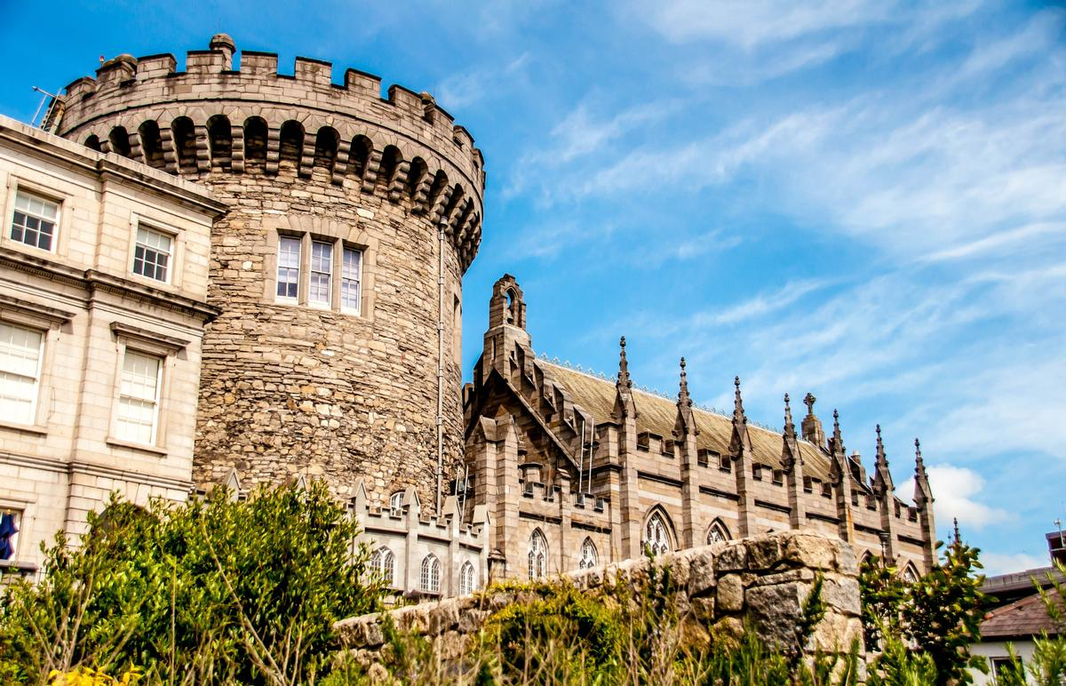Dublin Castle is part of Ireland's growing tourism industry / Shutterstock