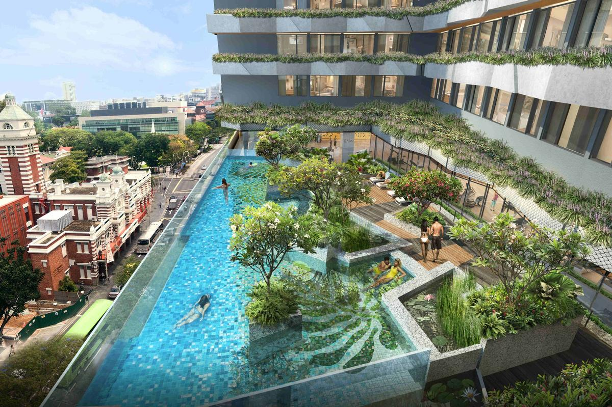 The expansive leisure and retail complex is scheduled to launch on 28 June / Capitaland