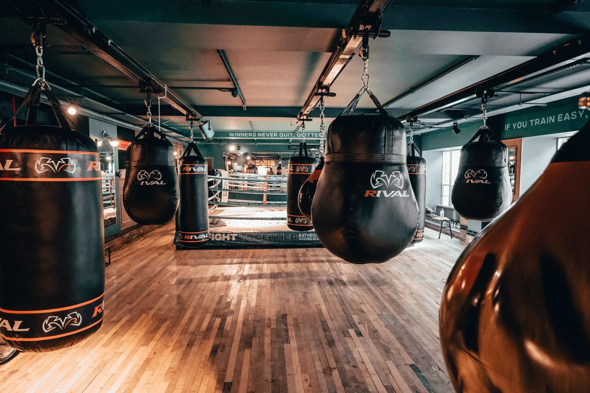 The studio's USP is to offer an experience 'steeped in the heritage of the sport of boxing'