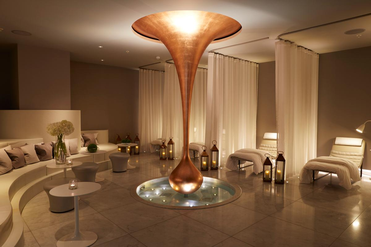 Guests will be to relax and unwind in the spa lounge