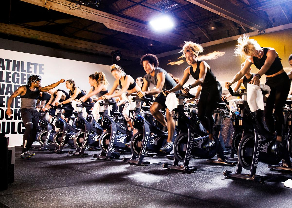 The studio will offer SoulCycle's trademark 45-minute classes, set in a candlelit room to high-energy music