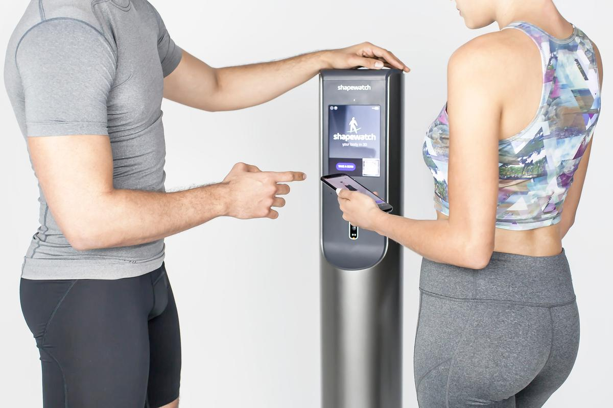 ShapeKAMS enables club operators to offer detailed, accurate and visual accounts of key biometrics including body fat percentage, lean body mass and waist-hip ratio