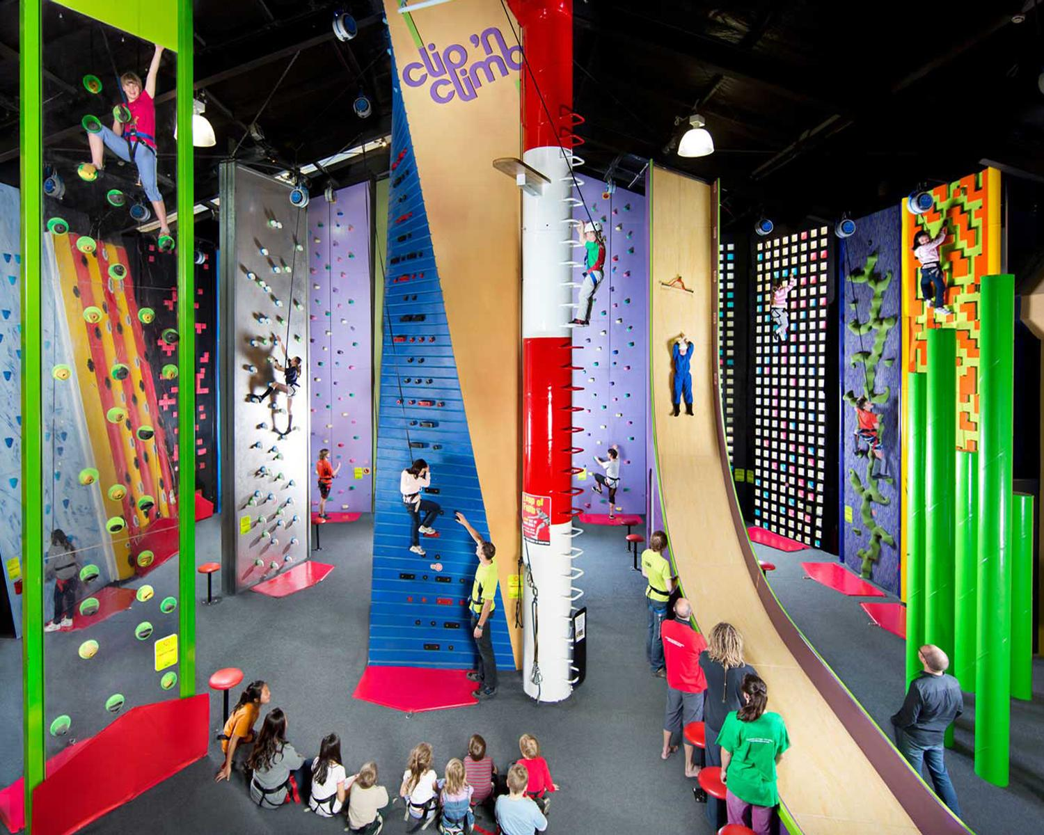 Clip 'n Climb is showcasing its outdoor challenges