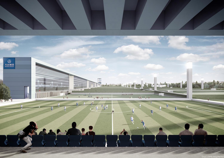 The 260,000 sq m complex will rise in Dalian, China / Cruz y Ortiz Arquitectos