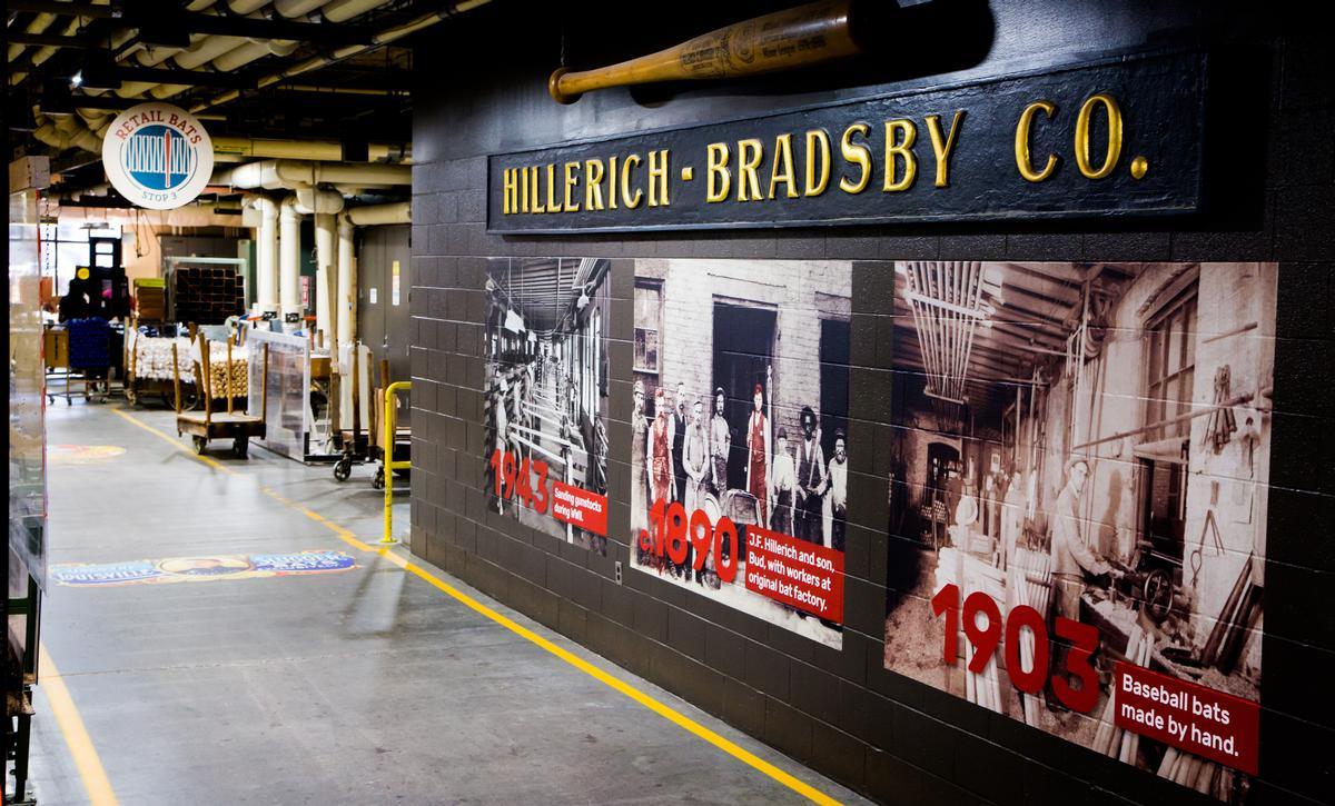 Hillerich & Bradsby have been making baseball bats since 1884