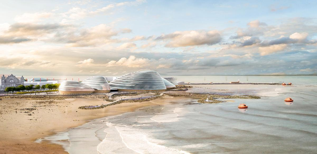 Conceptual designs for Eden Project North were released last year / Grimshaw Architects