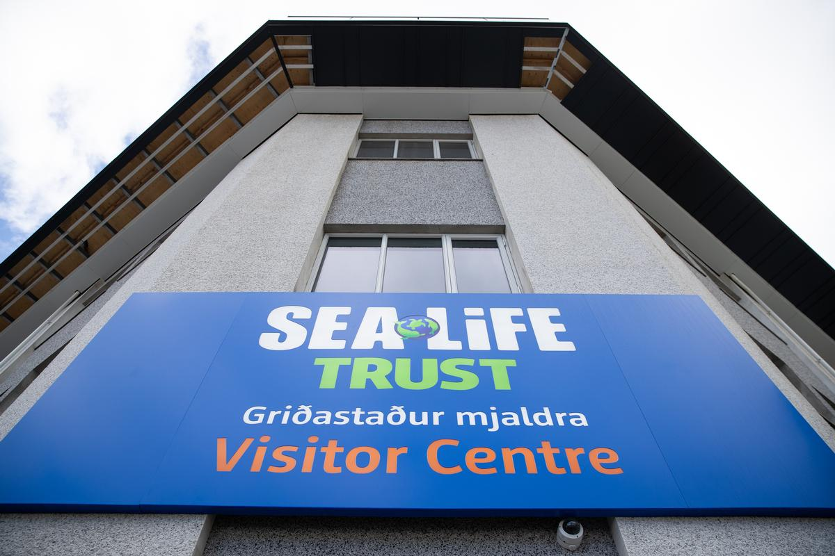 The new whale sanctuary has a visitor centre, despite its remote location