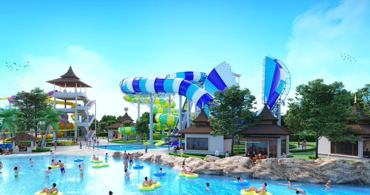 Angkor Water Park will have rides supplied by WhiteWater / Thai Nero
