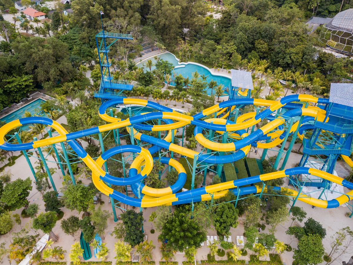 The Escape Theme Park in Penang already has a 300m-long water slide / Shutterstock
