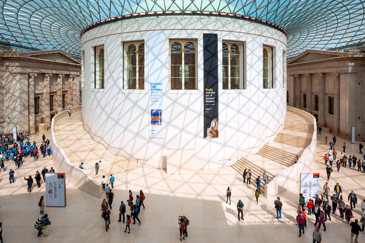 The British Museum is one of many notable heritage sites to benefit from the UK's National Lottery in the 25 years since its inception / Shutterstock